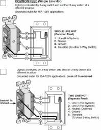 wiring diagram replacing 3 way switch combo 3way outlet 5645