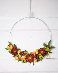 autumn hoop wreath a beautiful accent to your home décor no