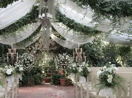 wedding venues in st louis mo the conservatory garden wedding embellishments