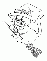 coloring pages halloween witch coloring home