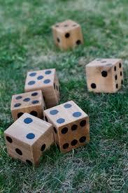 5 diy yard games hours of fun jenga dominoes yahtzee lemon