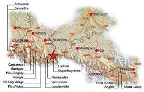 Pyrenees Mountains Map Pyrenees Skiing Holidays