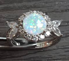 white fire rings images White fire opal rings for women in engagement rings from jewelry jpg