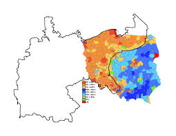 2014 Election Map by Poland U0027s Stark Electoral Divide Geocurrents