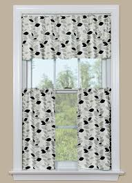 Gray And White Curtains Kitchen Cool Grey Kitchen Curtains Kitchen Curtain Sets U201a Kitchen