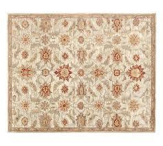 Rug 5x8 Sadie Persian Style Tufted Wool Rug 5x8 U0027 Multicolor Pottery Barn