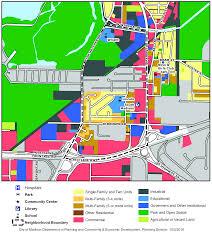 Map Of Madison Wisconsin by Madison Neighborhood Profile Burr Oaks Neighborhood Association