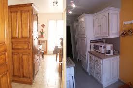 cuisine bois peint rénovation cuisine les fées du bois