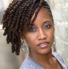 twist hairstyles for black women side two strand twists black women natural hairstyles