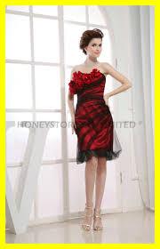 red and black cocktail dresses long dresses online