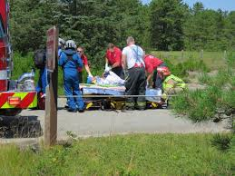 video one critically injured in two vehicle crash on route 6 in