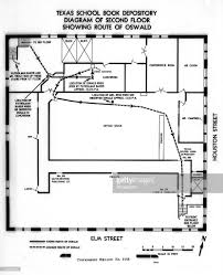 The Warren Floor Plan by 1963 Us President John F Kennedy Assassinated Photos And Images