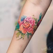 resultado de imagen para watercolor orchid tattoo tattoos