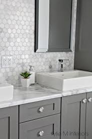 Bathroom Vanity Backsplash Ideas Best 25 Gray Vanity Ideas On Pinterest Grey Bathroom Vanity