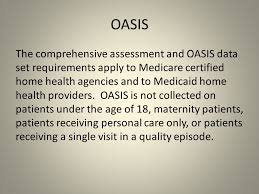 oasis c outcome and assessment information set ppt download