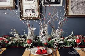 pottery barn christmas table decorations pottery barn holiday tablescape for dollar tree price