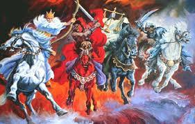4 horses u2013 4 horns u2013 4 beasts u2013 of zechariah and revelation