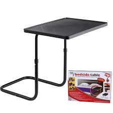 tv table as seen on tv as seen on tv deluxe bedside table ships free 13 deals