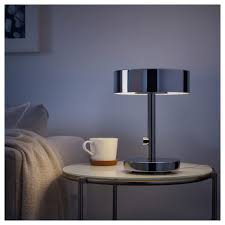 table lamps stockholm table lamp chrome plated with dimmer ikea