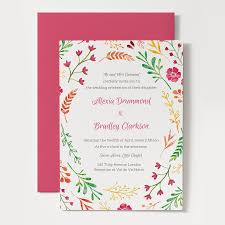 free printable wedding invitation template spring invitation templates cloudinvitation com