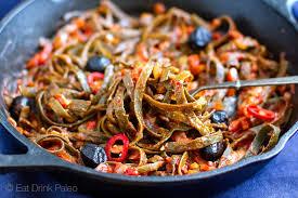 pasta recepies seaweed pasta all u0027amatriciana low carb u0026 gluten free