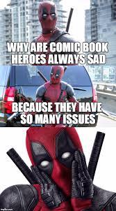 Deadpool Funny Memes - bad pun deadpool imgflip