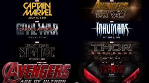 marvel announces 9 upcoming superhero movies name 2015 2019
