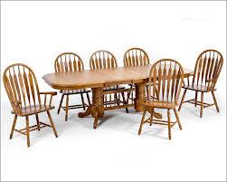solid oak trestle dining set classic oak incoi4296set