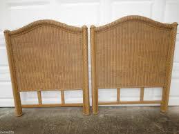 rattan headboards twin beds 12289