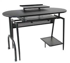 Small Black Computer Desk Contemporary Computer Sturdy Office Table With Black Stylish