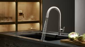 faucet sink kitchen sink faucet design water fall kitchen sinks and faucets metal