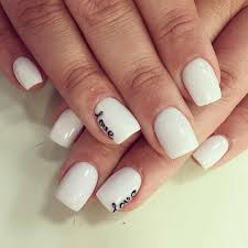 30 white nail design baby pink almond nails with a studded bow