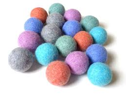 loohoo wool dryer balls starter 3 pack loohoo wool dryer balls