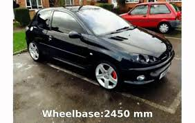 lilolarada 2005 peugeot 206 gti 180 specification and specs