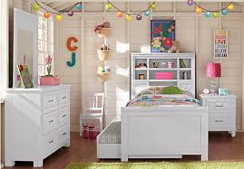 cottage colors white 5 pc twin bookcase bedroom twin bedroom
