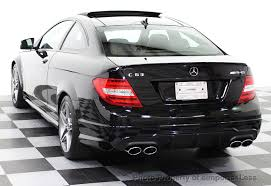 mercedes amg c class 2014 used mercedes certified c63 amg coupe distronic