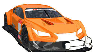 toyota lexus sports car how to draw a car 2014 toyota lexus racing gt500 車のイラスト