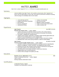 resume objective examples for teachers cover letter sample resume for special education teacher sample cover letter special ed teacher resume elementary sample first grade prestigebuxsample resume for special education teacher