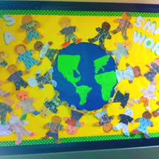 all around the world bulletin board cypress ranch high school