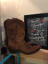 gringo s boots size 9 gringo womens ls elizabeth boot crackled brown size 9