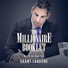 cardone bureau the millionaire booklet grant cardone grant cardone publications