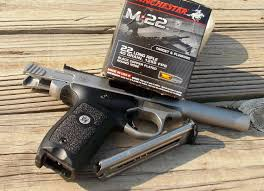 range report smith and wesson victory 22