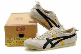 asics women u0027s onitsuka tiger mexico 66 beige black yellow a