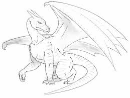 drawings of dragons in pencil dragons drawings black and white
