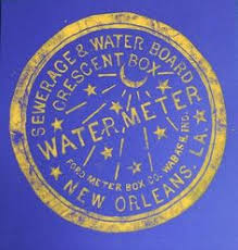 new orleans water meter cover new orleans crescent city box sewer cover louisiana black white