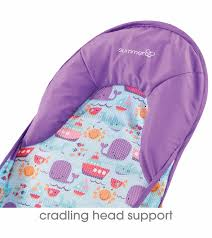 Summer Cradling Comfort Baby Bath Summer Infant Deluxe Baby Bather Dolphin Drive
