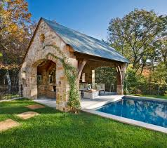 cabana pool house stone residence 1 traditional pool nashville by norris