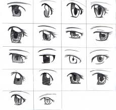 anime eyes drawing step by step how to draw manga eyes step step