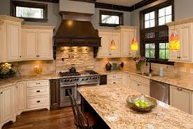 Travertine Tile Backsplash Ideas For Behind The Stove  Home - Stove backsplash