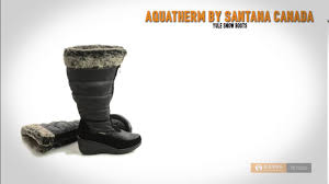 womens wide winter boots canada aquatherm by santana canada yule boots waterproof wide